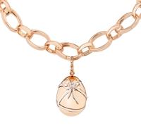 Diamond and Rose Gold Charm - Fabergé Cadeau Diamond Rose Gold Charm