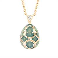 Fabergé Egg Pendant – Palais Tsarskoye Selo Turquoise Small Pendant