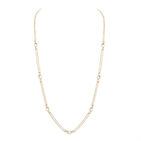 Gold Charm Necklace – Fabergé Rose Gold Charm Necklace