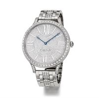 Women's Watch - Lady Fabergé 39mm 18kt White Gold Watch – Full Set Dial
