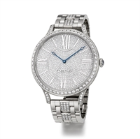 Women's Watch - Fabergé Flirt 39mm 18kt White Gold Watch – Full Set Dial
