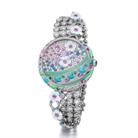 Ladies Watch – Fabergé Summer in Provence Multi-Coloured Sapphire Watch
