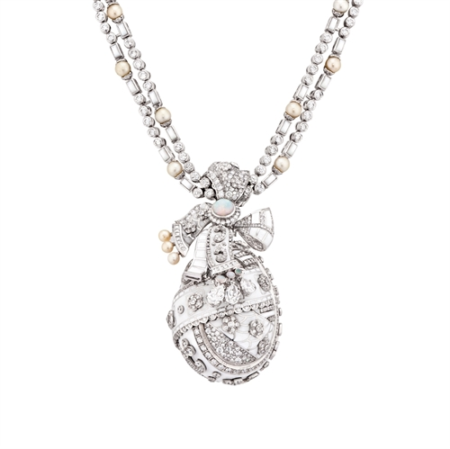 Summer in Provence Diamond Necklace