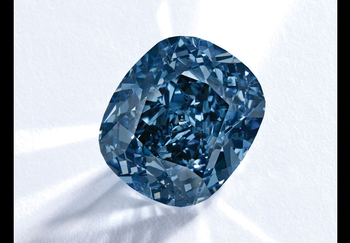 THE BLUE MOON DIAMOND IS THE WORLD'S MOST EXPENSIVE GEMSTONE