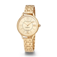 Women's Watch - Lady Fabergé 36mm 18kt Yellow Gold Watch – Champagne Dial