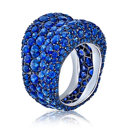 Blue Sapphire Ring - Fabergé Emotion Blue Sapphire Ring