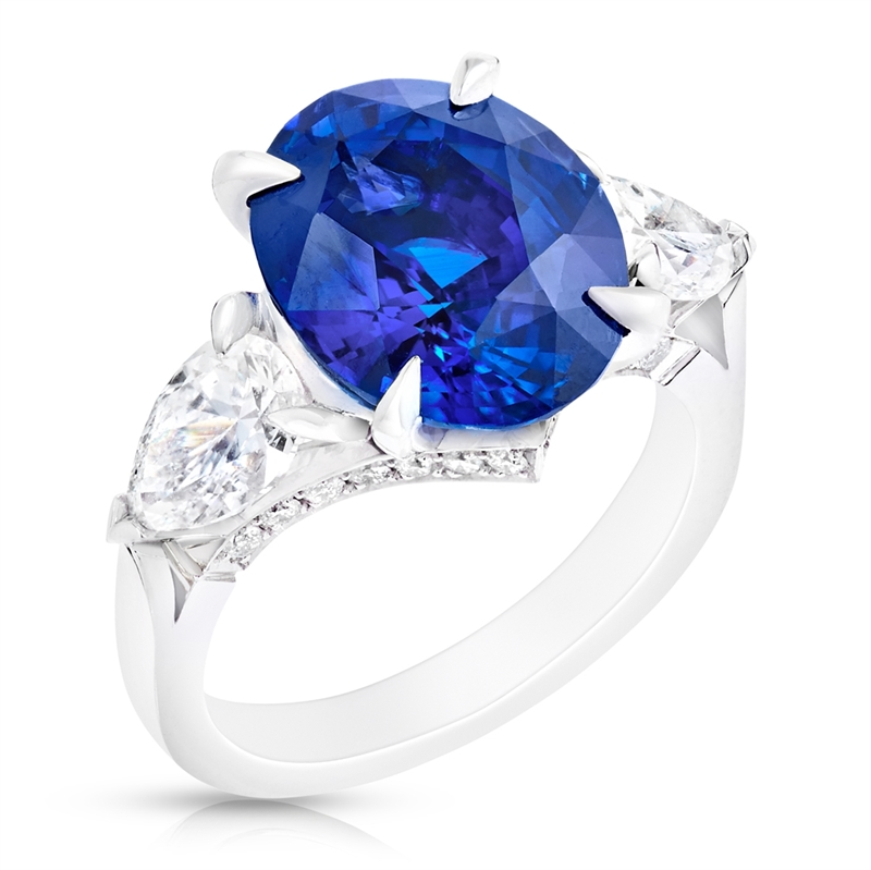 Fabergé Sapphire Oval Ring