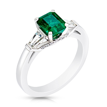 Fabergé Emerald Step Cut Ring