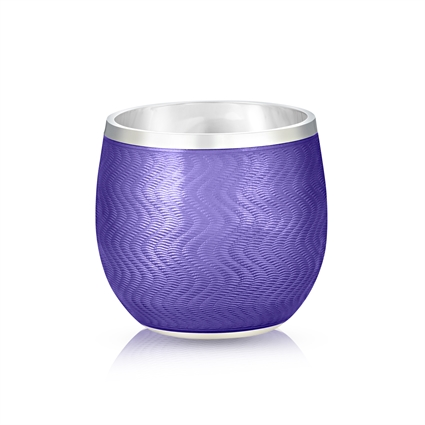 Shot Glass – Fabergé Purple Enamel Shot Glass