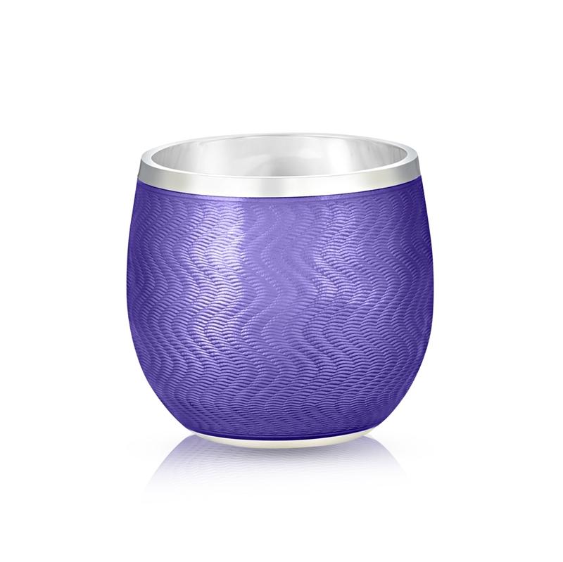 Shot Glass – Fabergé Purple Enamel Shot Glass