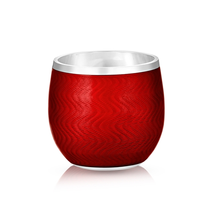 Shot Glass – Fabergé Red Enamel Shot Glass