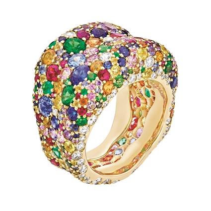 Gemstone Ring - Fabergé Emotion Multi Coloured Ring