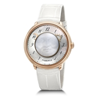 FABERGÉ WATCH – FABERGÉ LADY LEVITY 18 KARAT ROSE GOLD WATCH
