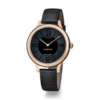 Ladies Watch – Fabergé Flirt 36MM 18 KARAT ROSE GOLD - BLACK DIAL WATCH