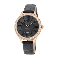 Women's Watch - Lady Fabergé 36mm 18kt Rose Gold Watch – Anthracite Dial