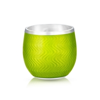 Light Green Enamel Shot Glass
