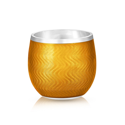Shot Glass – Fabergé Orange Enamel Shot Glass