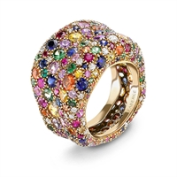 Gemstone Ring - Fabergé Emotion Multi Coloured Ring