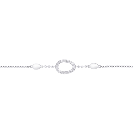Diamond Bracelet - Fabergé Sasha Diamond White Gold Bracelet