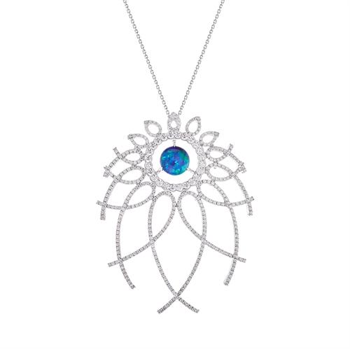 Menuet Opal Pendant