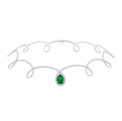 Cotillon Emerald Necklace