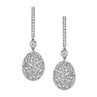White Diamond Ohrringe – Fabergé Emotion White Diamond Ohrringe