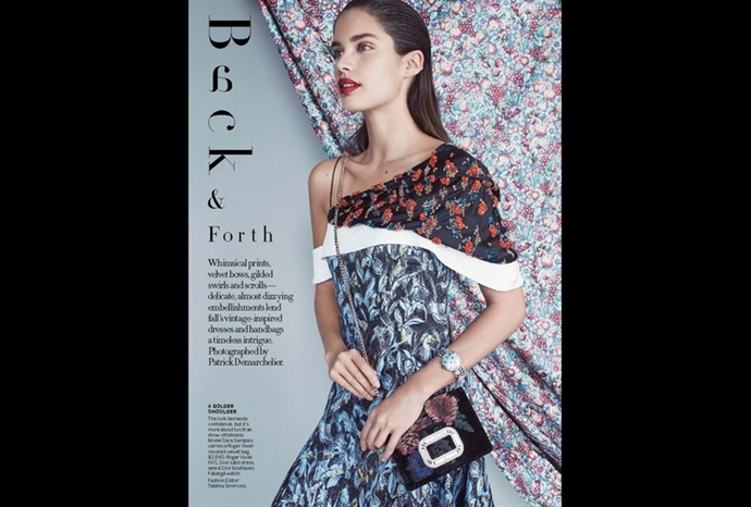 Fabergé's Summer in Provence timepiece features Vogue US