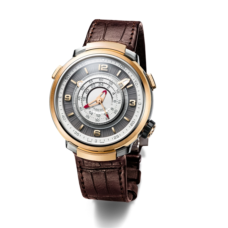 Fabergé Visionnaire Chronograph Rose Gold Watch