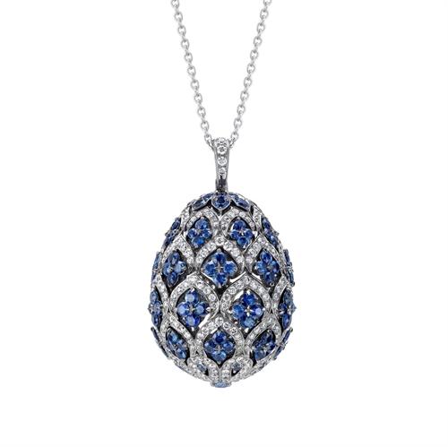 Zenya Sapphire Pendant