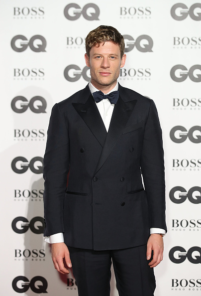 James Norton at GQ men of the year awards 2017
