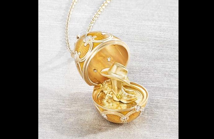 Fabergé Reveals The Exclusive Golden Surprise of Texas
