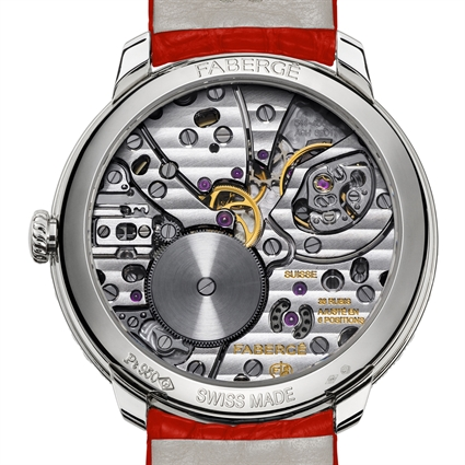 FABERGÉ WATCH – LADY COMPLIQUÉE PEACOCK RUBY WATCH