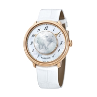 Women's Watch - Fabergé Lady Levity 18 Karat Rose Gold With Pig Surprise