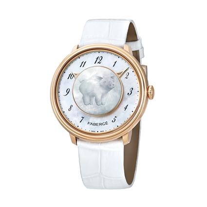 Women's Watch - Fabergé Lady Levity 18 Karat Rose Gold With Pig Surprise