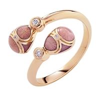 Fabergé Palais Tsarskoye Selo Rose Crossover Ring