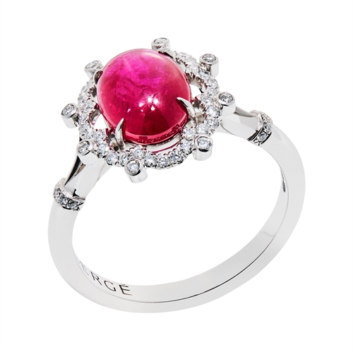 Bijoux Ruby and Diamond Ring