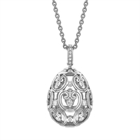 Impératrice Diamond White Gold Pendant
