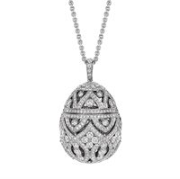 Zenya Diamond Egg Pendant