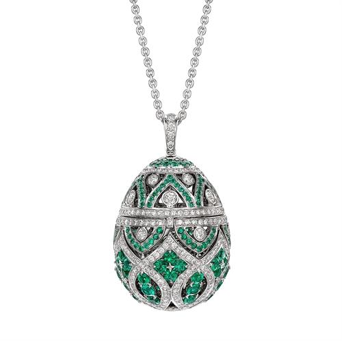 Zenya Emerald Pendant