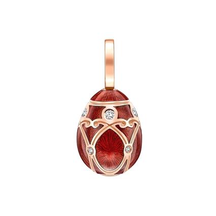 Fabergé Egg Charm - Palais Yelagin Red Charm