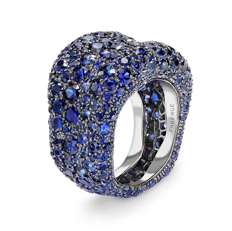 Blue Sapphire Ring - Fabergé Emotion Blue Sapphire Ring