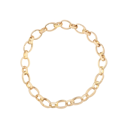 Yellow Gold Chain Charm Bracelet | Fabergé