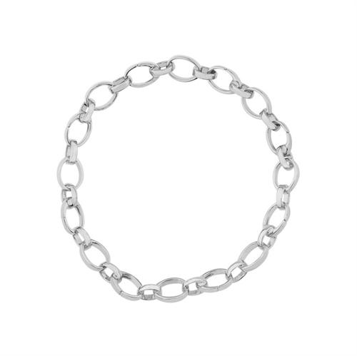White Gold Chain Charm Bracelet | Fabergé