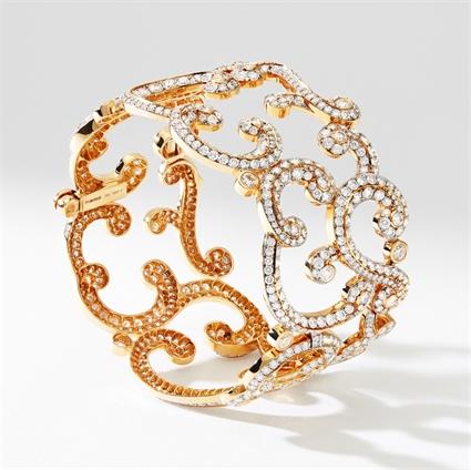 Rose Gold Diamond Bracelet | Fabergé