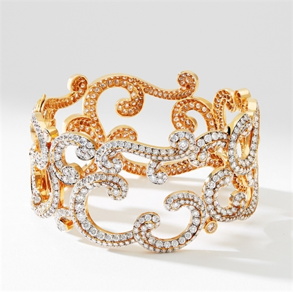 Rose Gold Diamond Bracelet | Fabergé